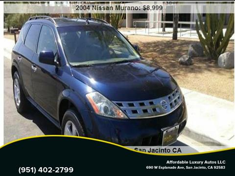 2004 Nissan Murano for sale at Affordable Luxury Autos LLC in San Jacinto CA