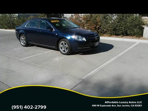 2008 Chevrolet Malibu for sale at Affordable Luxury Autos LLC in San Jacinto CA