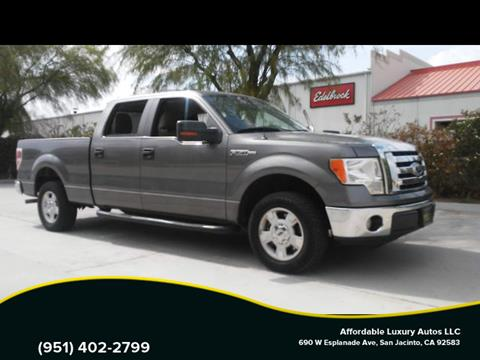 2010 Ford F-150 for sale at Affordable Luxury Autos LLC in San Jacinto CA