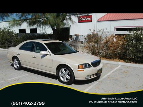 2000 Lincoln LS for sale in San Jacinto, CA