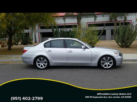 2007 BMW 5 Series for sale at Affordable Luxury Autos LLC in San Jacinto CA