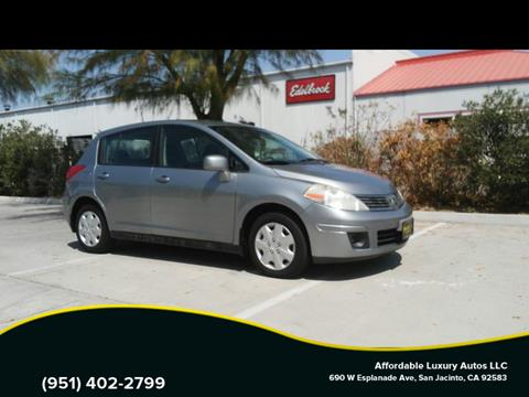 2009 Nissan Versa for sale at Affordable Luxury Autos LLC in San Jacinto CA