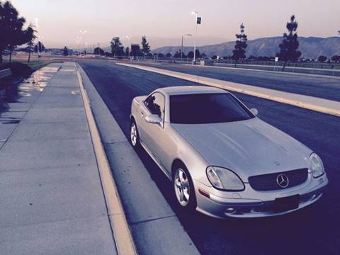 2003 Mercedes-Benz SLK-Class for sale at Affordable Luxury Autos LLC in San Jacinto CA