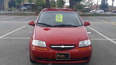 2007 Chevrolet Aveo for sale at Affordable Luxury Autos LLC in San Jacinto CA