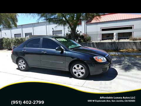 2008 Kia Spectra for sale at Affordable Luxury Autos LLC in San Jacinto CA