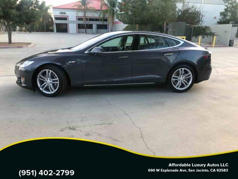 2014 Tesla Model S for sale at Affordable Luxury Autos LLC in San Jacinto CA
