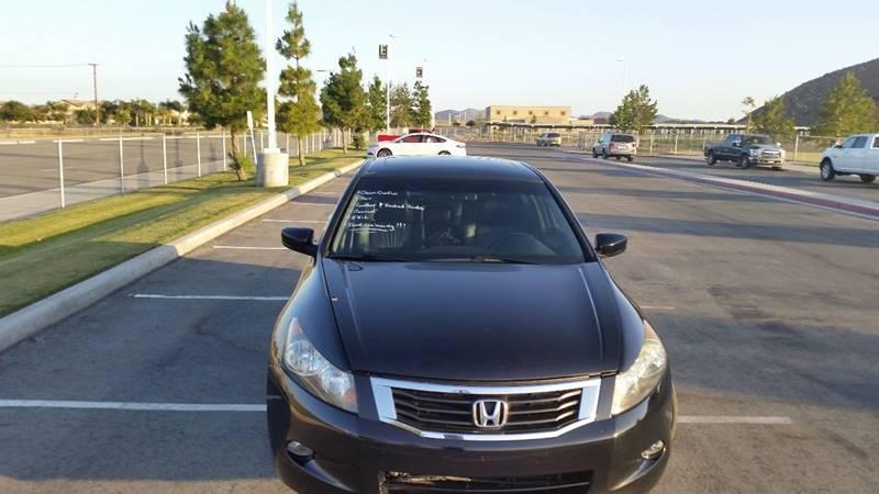 2008 Honda Accord EX L V6 W/Navi   San Jacinto CA
