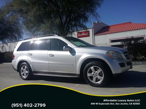 2007 Mercedes-Benz GL-Class for sale at Affordable Luxury Autos LLC in San Jacinto CA