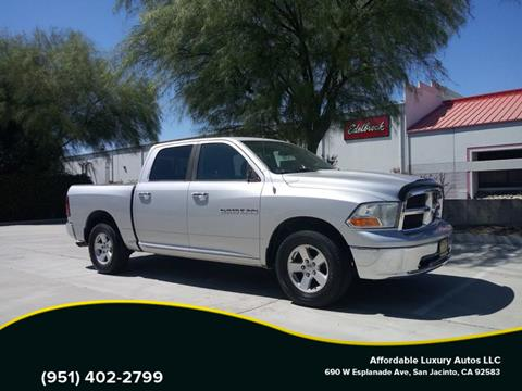 2012 RAM Ram Pickup 1500 for sale at Affordable Luxury Autos LLC in San Jacinto CA