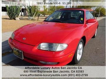 1993 Mazda MX-6 for sale in San Jacinto, CA