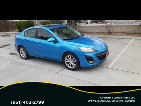 2010 Mazda MAZDA3 for sale at Affordable Luxury Autos LLC in San Jacinto CA