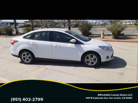 2014 Ford Focus for sale at Affordable Luxury Autos LLC in San Jacinto CA