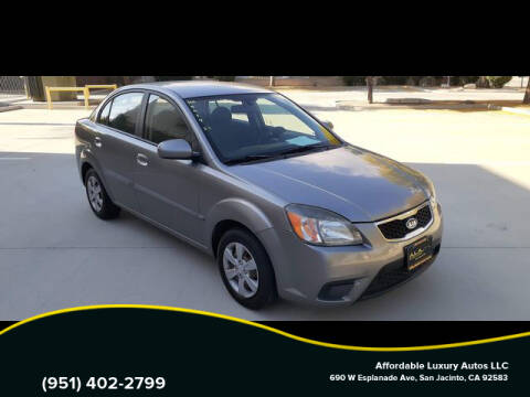 2010 Kia Rio for sale at Affordable Luxury Autos LLC in San Jacinto CA