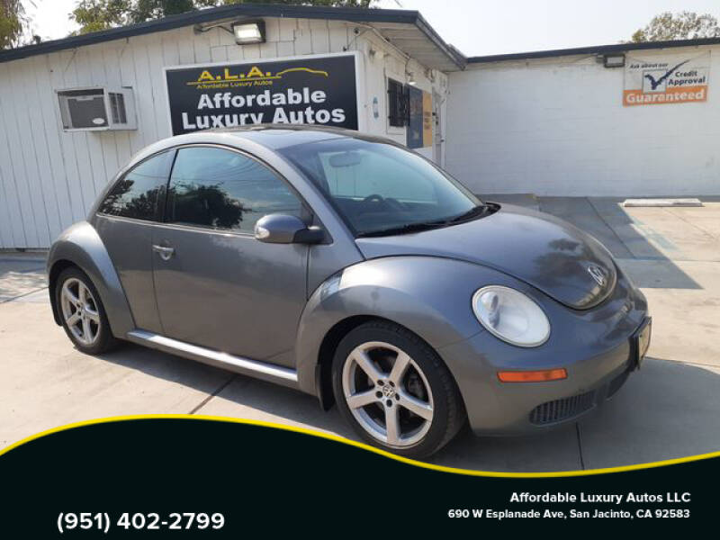 2008 Volkswagen New Beetle for sale at Affordable Luxury Autos LLC in San Jacinto CA