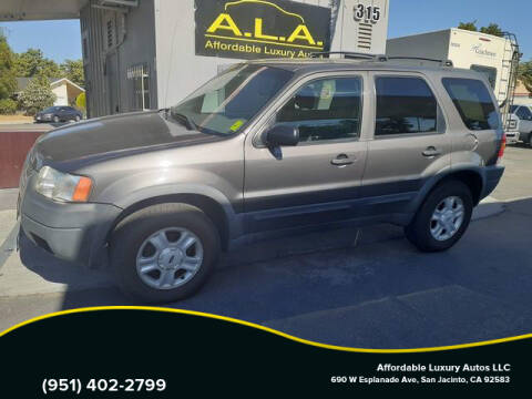 2002 Ford Escape for sale at Affordable Luxury Autos LLC in San Jacinto CA