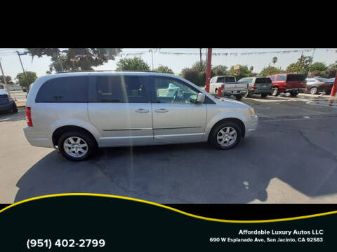 2010 Chrysler Town and Country for sale at Affordable Luxury Autos LLC in San Jacinto CA