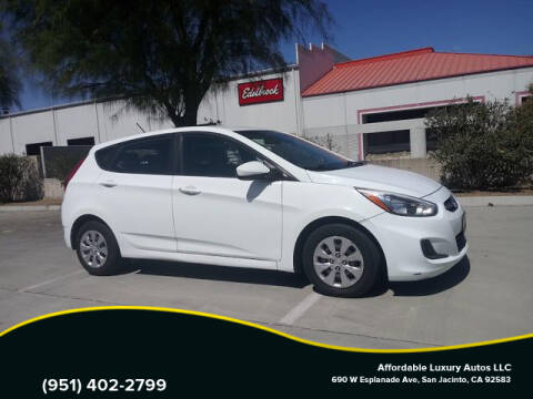 2015 Hyundai Accent for sale at Affordable Luxury Autos LLC in San Jacinto CA