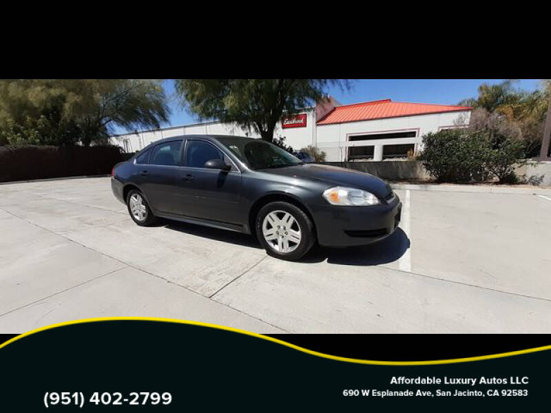 2016 Chevrolet Impala Limited for sale at Affordable Luxury Autos LLC in San Jacinto CA
