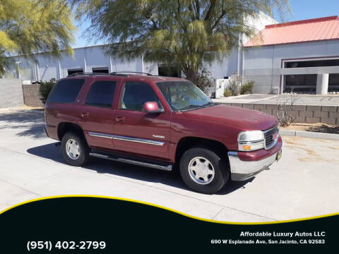 2003 GMC Yukon for sale at Affordable Luxury Autos LLC in San Jacinto CA