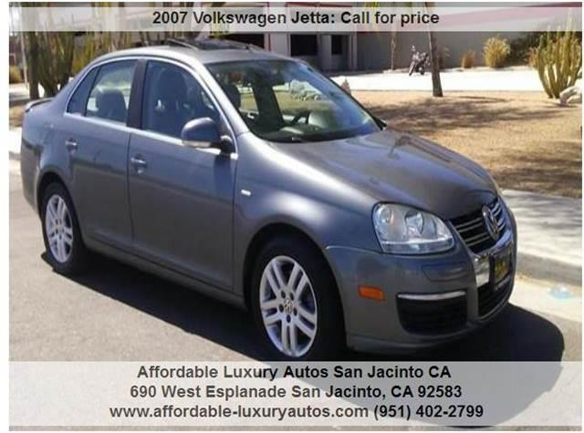 2007 Volkswagen Jetta for sale at Affordable Luxury Autos LLC in San Jacinto CA