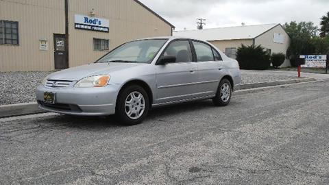 2002 Honda Civic for sale at Affordable Luxury Autos LLC - Affordable Luxury Autos in San Jacinto CA
