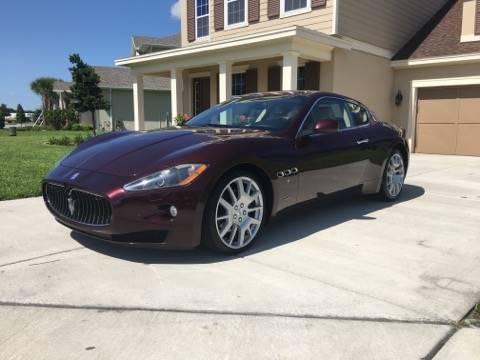 2011 Maserati GranTurismo for sale at WESTCOAST AUTO MALL in Holiday FL