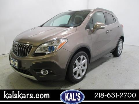 2015 Buick Encore for sale in Wadena, MN