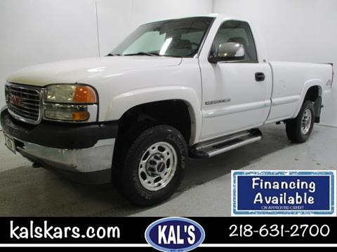 2001 GMC Sierra 2500HD for sale in Wadena, MN