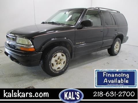 1999 Chevrolet Blazer for sale in Wadena, MN
