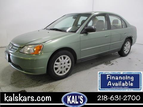 2003 Honda Civic for sale in Wadena, MN