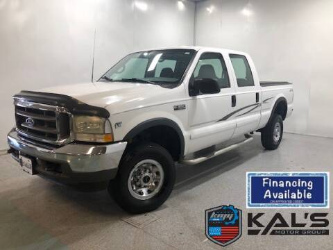 2002 Ford F-350 Super Duty for sale at Kal's Kars in Wadena MN