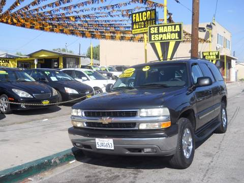 2004 Chevrolet Tahoe for sale in Bellflower, CA