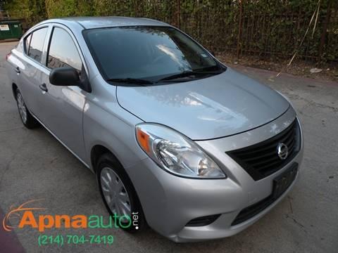 2012 Nissan Versa for sale in Dallas, TX