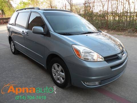 2005 Toyota Sienna for sale in Dallas, TX