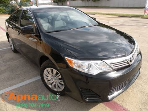 2013 Toyota Camry for sale in Dallas, TX