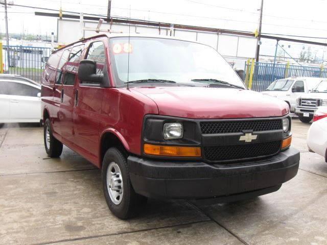 Chevrolet Of Jersey City >> 2008 Chevrolet Express Cargo 3500 3dr Cargo Van In Jersey
