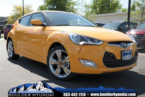 2017 Hyundai Veloster for sale in Boulder, CO