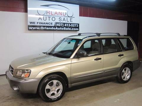2003 Subaru Forester for sale in Orlando, FL
