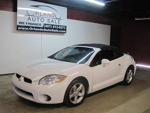2009 Mitsubishi Eclipse Spyder For Sale In Orlando, FL