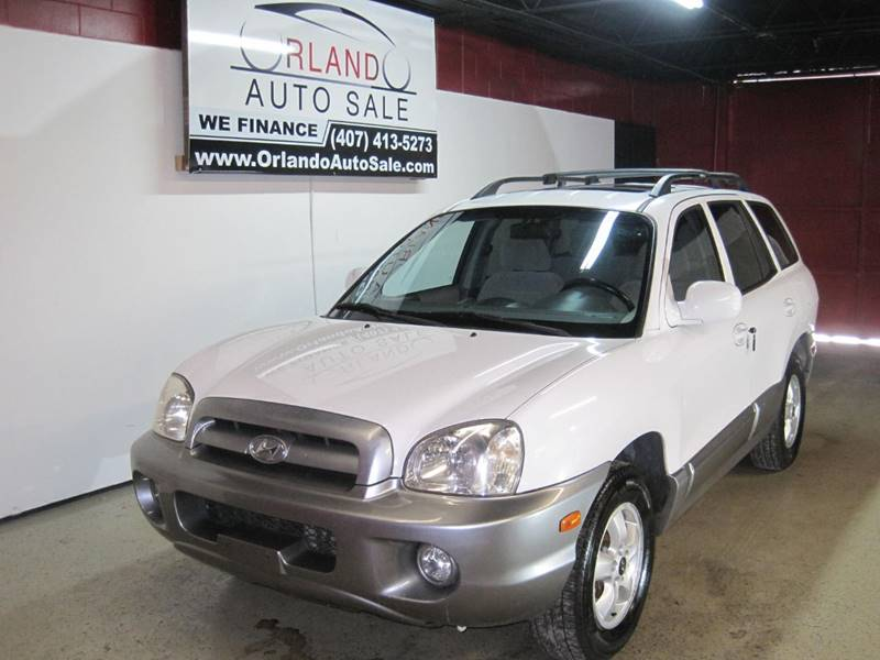 2005 Hyundai Santa Fe For Sale At Orlando Auto Sale In Orlando FL