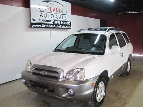 2005 Hyundai Santa Fe For Sale In Orlando, FL