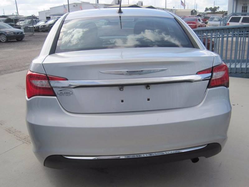 2012 Chrysler 200 LX 4dr Sedan In Orlando FL  Orlando Auto Sale