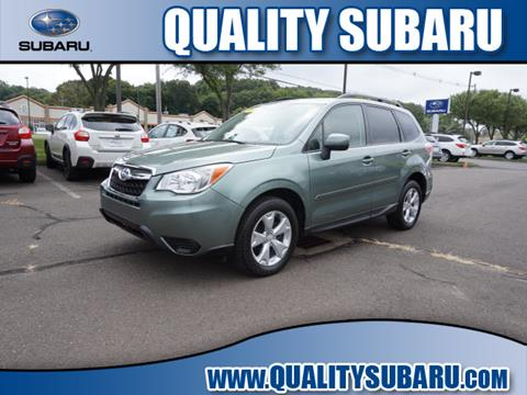 2015 Subaru Forester for sale in Wallingford, CT