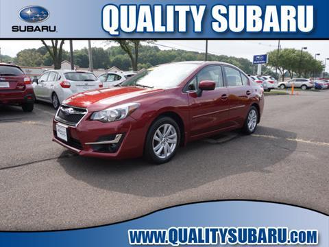 2016 Subaru Impreza for sale in Wallingford, CT