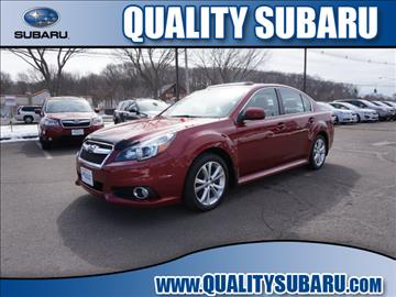 2013 Subaru Legacy for sale in Wallingford, CT