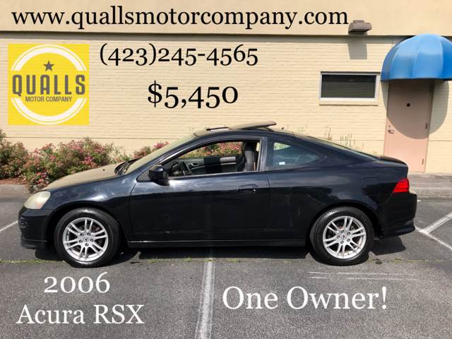 2006 Acura RSX 2dr Hatchback 5A w/Leather - Kingsport TN