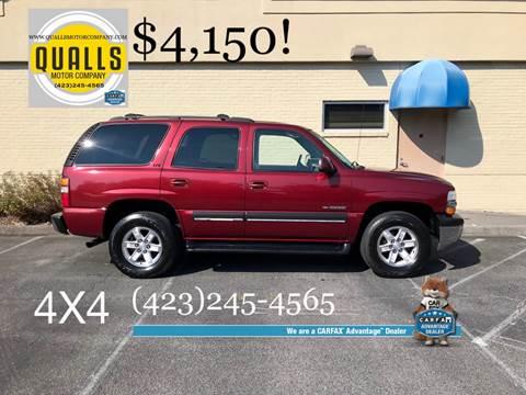 2001 Chevrolet Tahoe for sale in Kingsport, TN