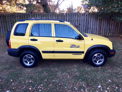 2002 Chevrolet Tracker for sale in Kingsport, TN