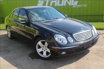 2006 Mercedes-Benz E-Class for sale in Houston, TX