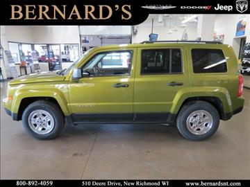 2012 Jeep Patriot for sale in New Richmond, WI